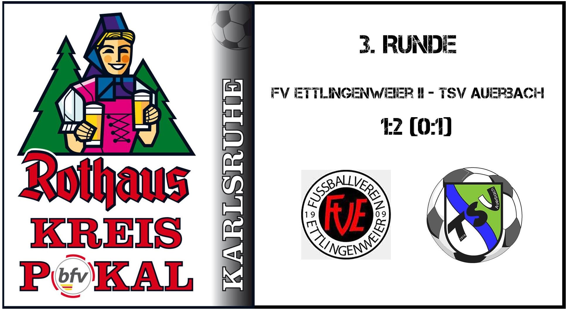 FV Ettlingenweier II – TSV Auerbach  1:2 (0:1)